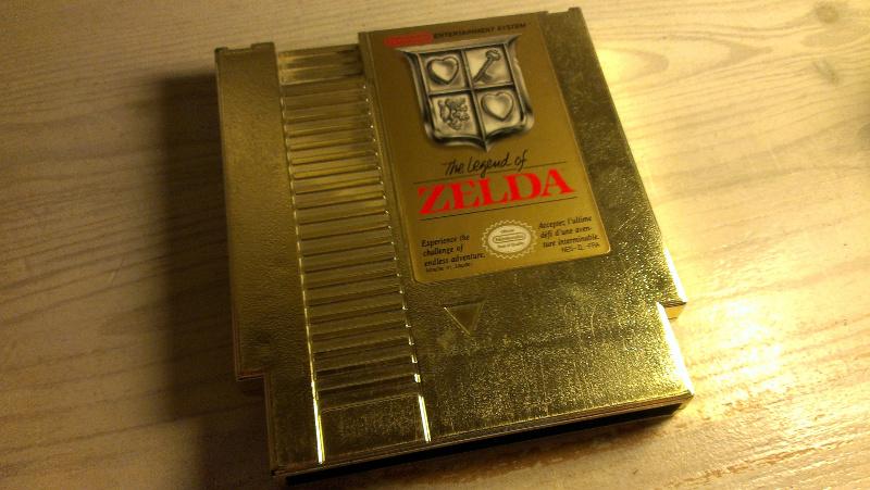 Objekt der Begierde: Ein Zelda-Modul für das NES