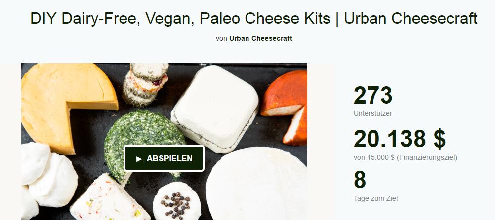 Vegane Käse-Kits von Urban Cheesecraft