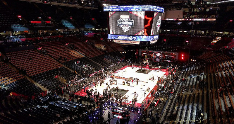 Das NBA All Star-Weekend 2016 in Toronto (Foto: Laslovarga auf Wikimedia, Lizenz: CC BY-SA 4.0)