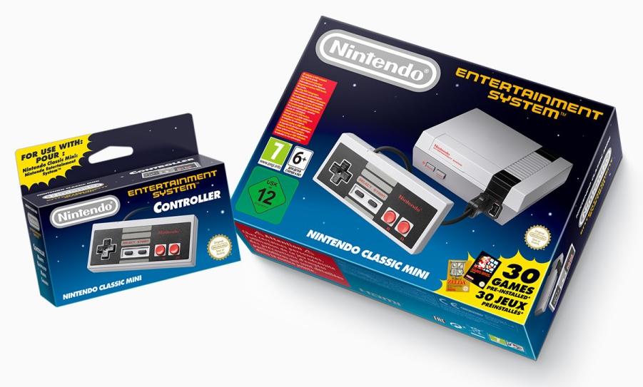 Das Nintendo Classic Mini NES (Screenshot von nintendo.de)