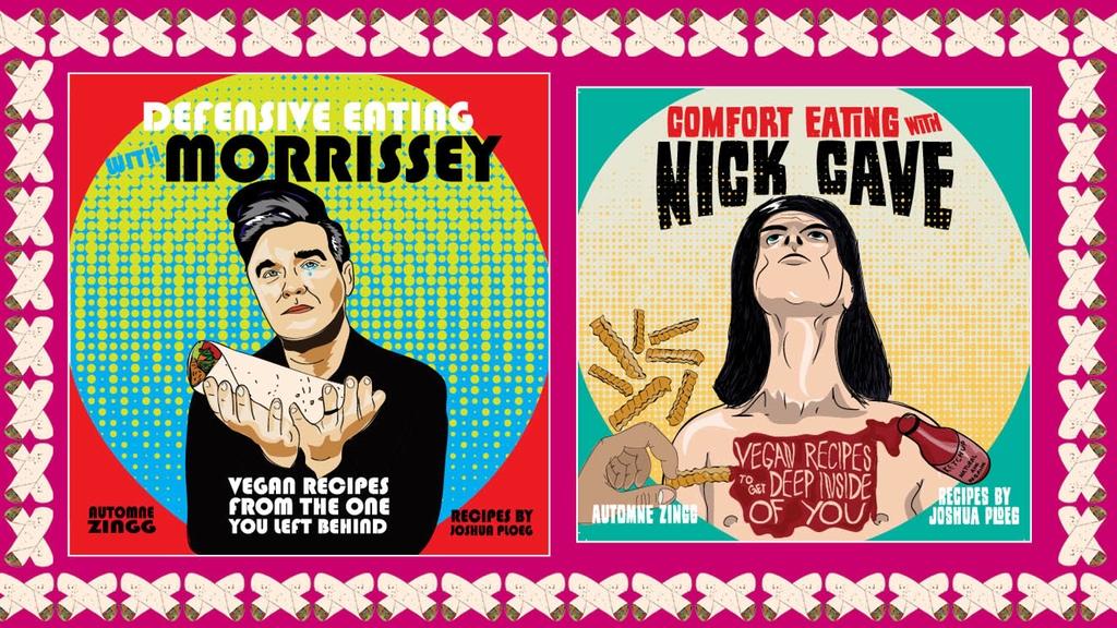 Die Cover der beiden Kochbücher (Bild: Kickstarter / Microcosm Publishing)