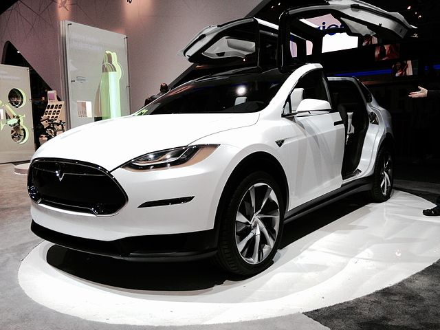 Ein Tesla Model X (Foto: Don McCullough, Lizenz: CC-BY SA 2.0)