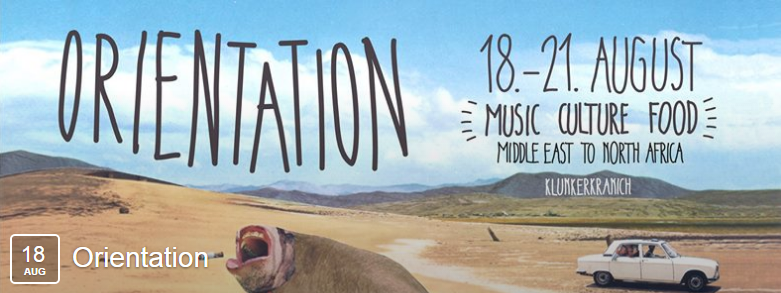 Screenshot der Facebook-Veranstaltung für das Orientation Festival