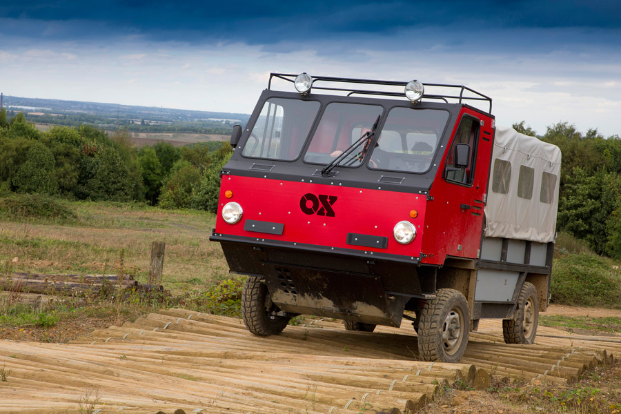 Der Bausatz-Wagen OX (Foto: Global Vehicle Trust)