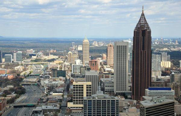 Atlanta im US-Bundesstaat Georgia